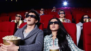 люди в кинотеатре