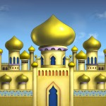 Английский для детей. Сказка о султане.