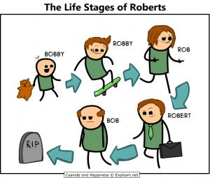 Английский: стадии жизни человека