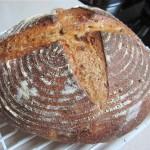 Хлеб из закваски на английском