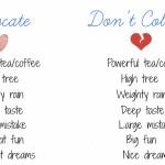 Правильные сочетания английских слов