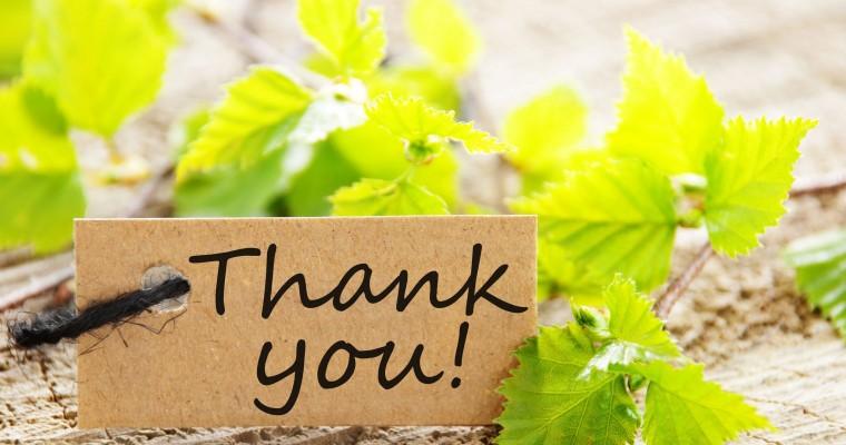 Как сказать спасибо на английском языке