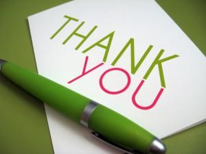 Как сказать спасибо на английском
