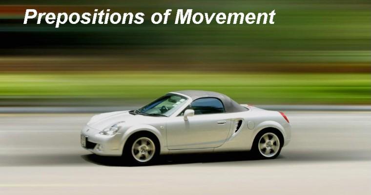 Предлоги движения