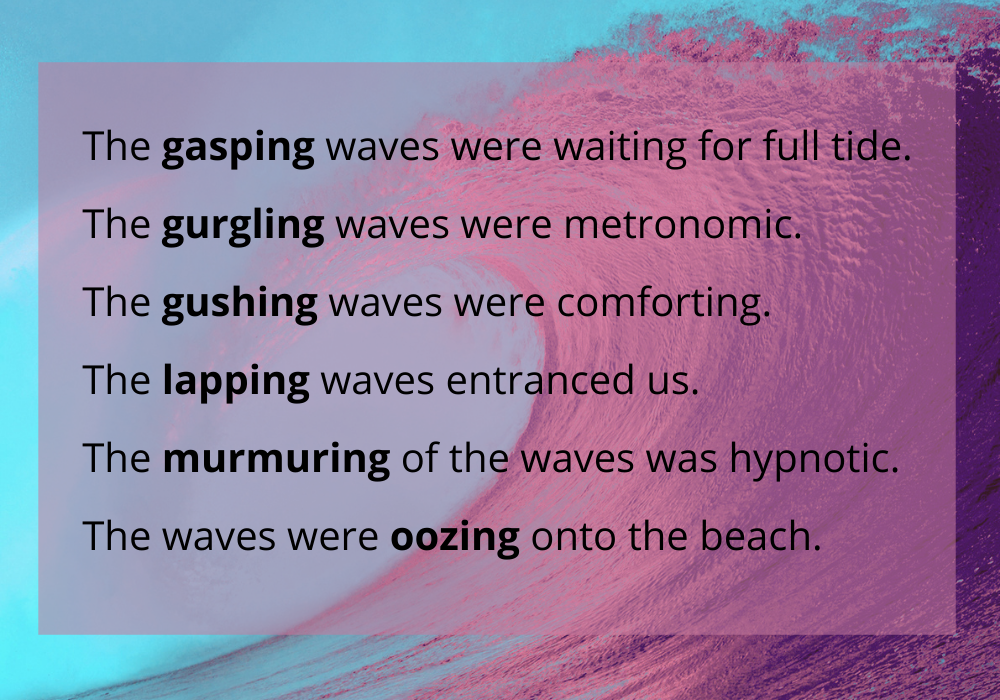 описание волн на английском языке