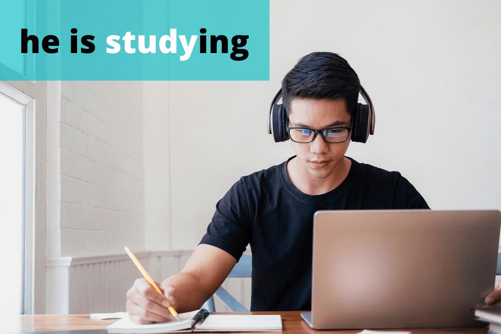 study: пример употребления