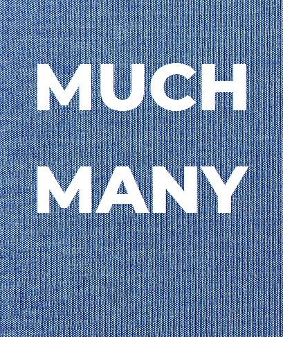 Разница между much и many: простое правило